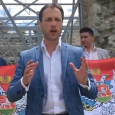 Džaba mašete zastavama OVK i Albanije MOĆNA PORUKA IZ SVAČA ALBANCIMA I ĐUKANOVIĆU (VIDEO)