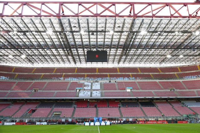 Milan promenio grb zbog koronavirusa FOTO