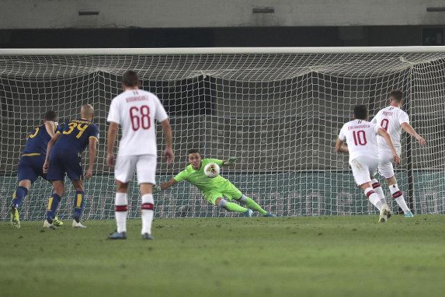 Milan sa igračem više slomio Veronu, Lazović u poslednjoj sekundi propustio priliku za izjednačenje! (video)
