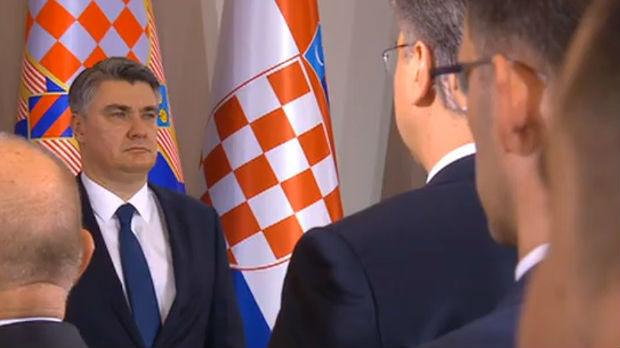 Milanović položio zakletvu, postao peti predsednik Hrvatske