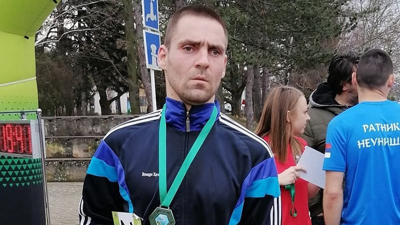 Milenko Janićijević na humanitarnoj trci za decu obolelu od cerebralne paralize