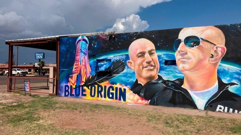 Let milijardera Bezosa u svemir