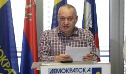 Milivojević (DS): Postojeći izborni uslovi mogu da dovedu samo do novog bojkota