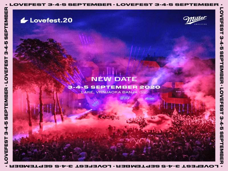 Miller Lovefest odložen: Ove godine od 3. do 5. septembra!