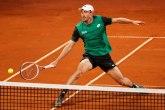 Milman ide dalje, Petrović završio učešće na Srbija openu