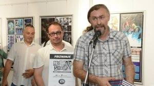 """Miloš Petković dobitnik priznanja """"Prijatelj stripa"""" u Leskovcu"""