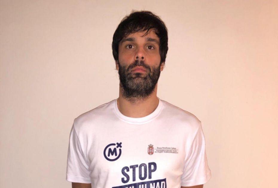 """Miloš Teodosić i Danilo Anđušić podržali Mozzartovu akciju """"Stop nasilju nad ženama"""""""
