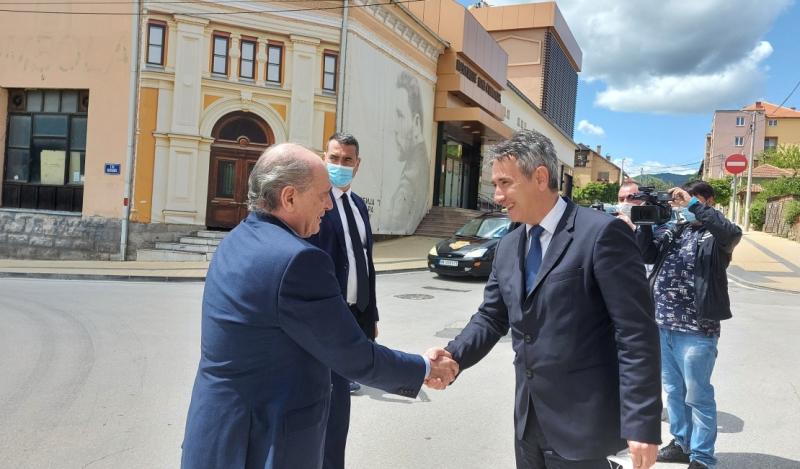 Ministar Milan Krkobabić razgovarao sa gradskim rukovodstvom
