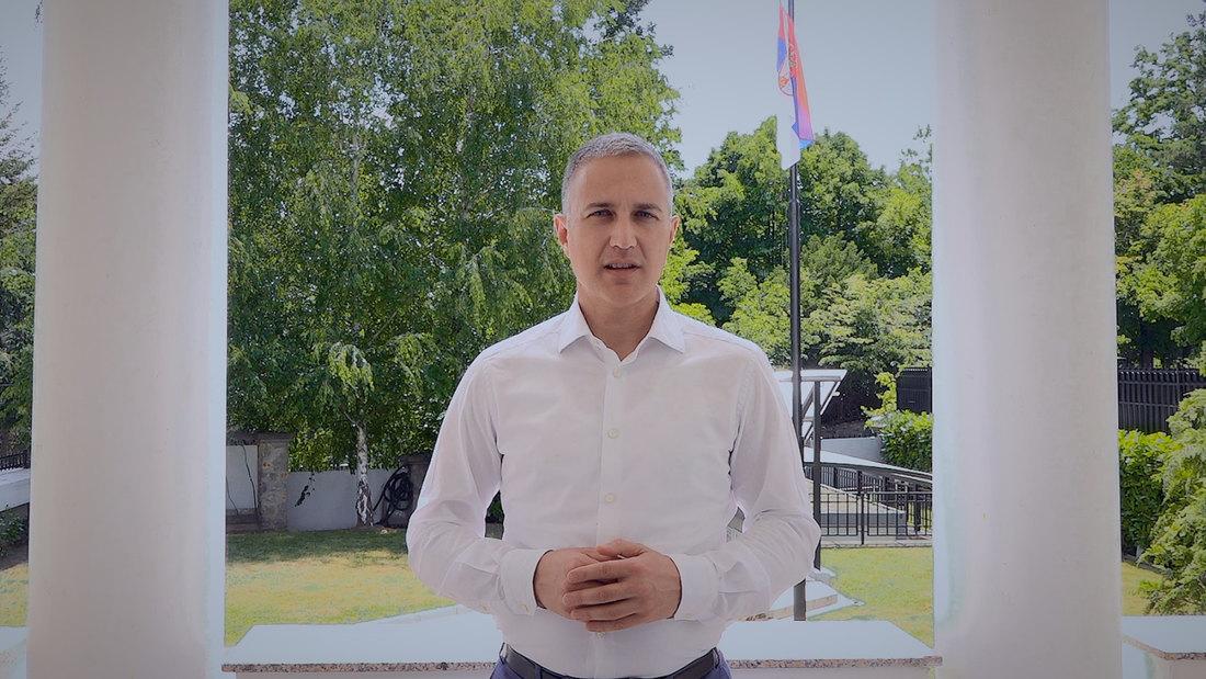 Ministar Stefanović čestitao Tijani Bogdanović
