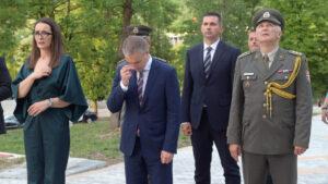 Ministar Stefanović u Drvaru na proslavi 80. godišnjice Ustanka naroda BiH protiv fašizma