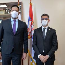 Ministar Udovičić sa ambasadorom Кraljevine Maroko - Nastavljamo da jačamo prijateljske odnose (FOTO)