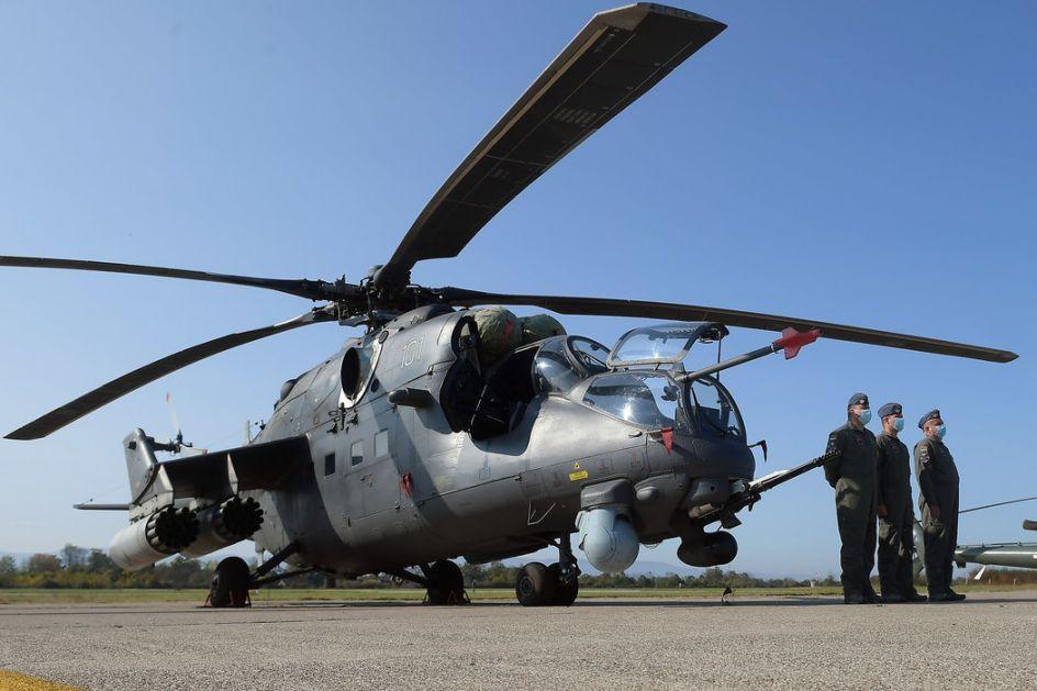 Ministar Vulin: 98. vazduhoplovna brigada opremljena je najmodernijim sredstvima