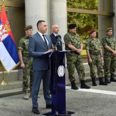 Ministar Vulin: Srbija treba i može da bude ponosna na svoju vojsku i na sve njene pripadnike