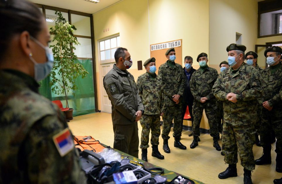 Ministar Vulin: Vojno zdravstvo je spremno za novi udar Korone