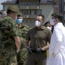 Ministar Vulin u Novom Pazaru: Vojska Srbije izvršila naređenje vrhovnog komandanta (FOTO/VIDEO)