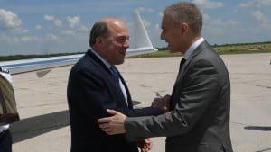 Ministar odbrane Velike Britanije Ben Volas doputovao u dvodnevnu posetu Srbiji