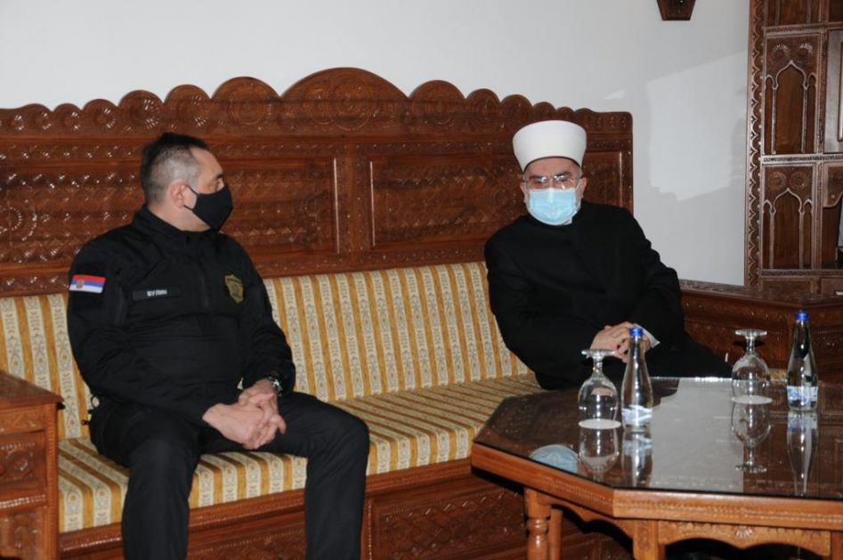 Ministar policije u posjeti Islamskoj zajednici – Ravnomjerna zastupljenost Bošnjaka u policijskoj upravi tema sastanka