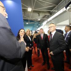Ministar poljoprivrede Branislav Nedimović posetio štand Kompanije Dunav osiguranje