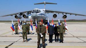 Ministarstvo odbrane: Jedanaest aviona dopremilo medicinsku pomoć iz Rusije