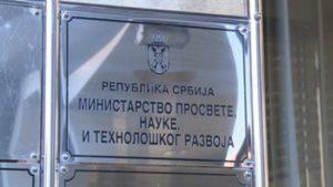Ministarstvo prosvete: Zabrinjavajuće nereagovanje nadležnih na dešavanja u Petnici