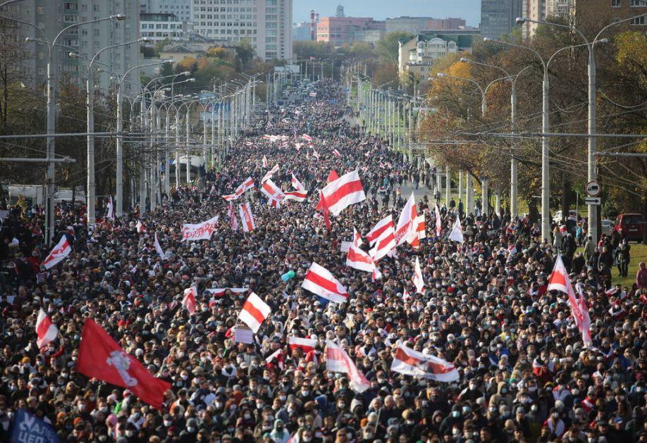 Minsk. Uhapšeno 280 demonstranata