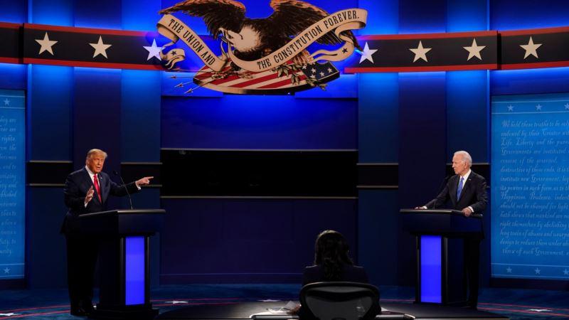 Mirnija debata uprkos velikom neslaganju Trampa i Bajdena