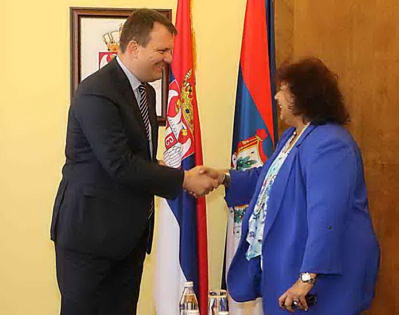 Mirović: Jačati saradnju sa Egiptom, naročito, u oblasti kulture
