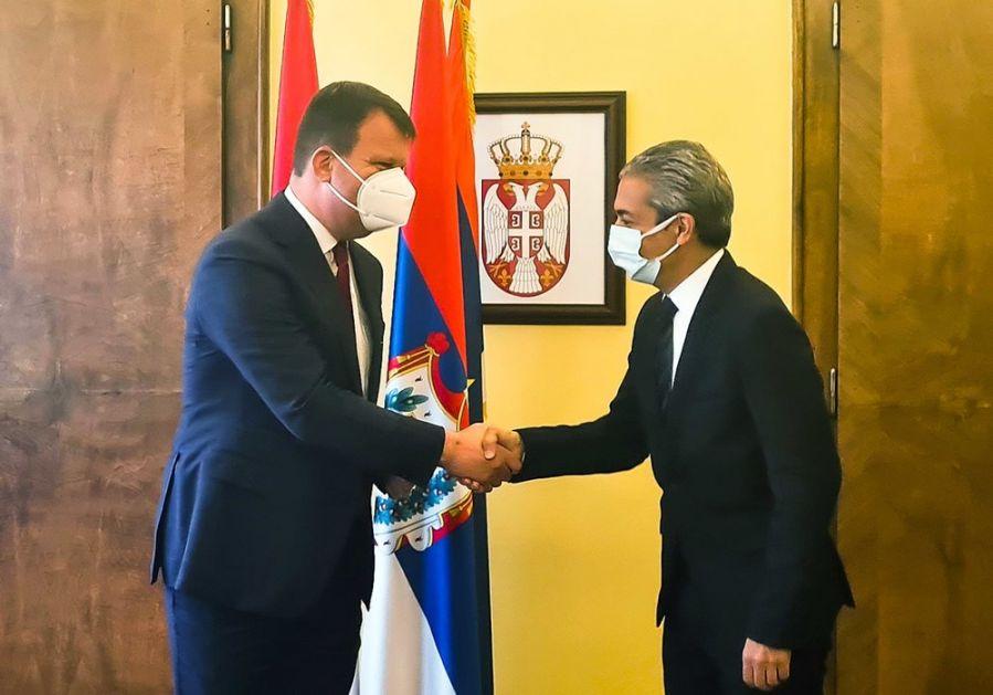 Mirović i ambasador Turske o proširenju privredne saradnje