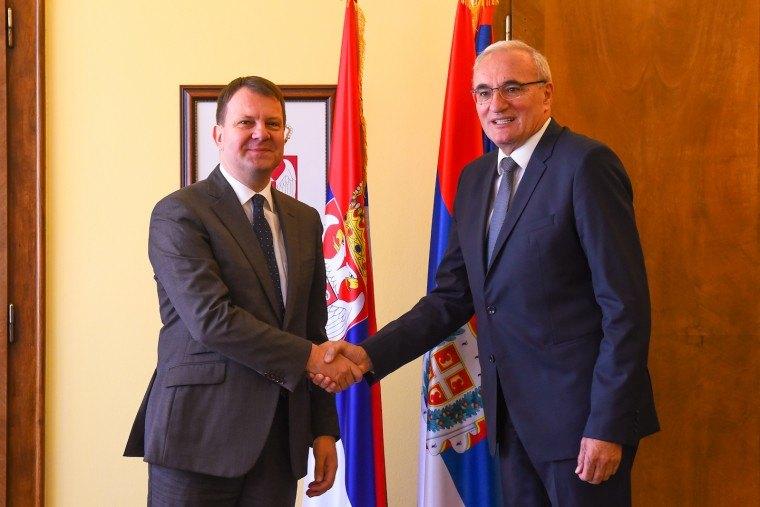 Mirović sa ambasadorom Crne Gore o povećanju robne razmene