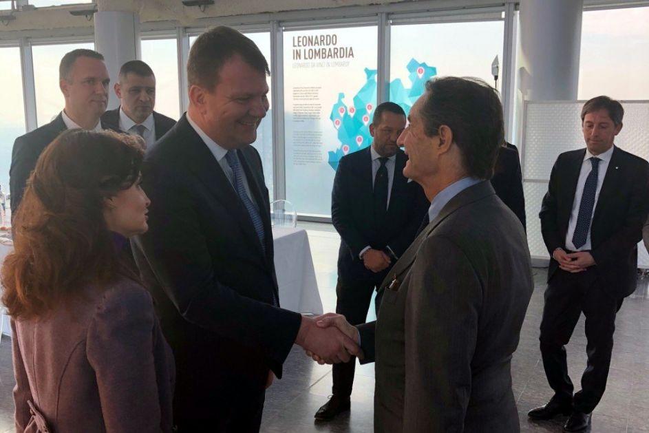 Mirović u Lombardiji predstavio potencijale AP Vojvodine