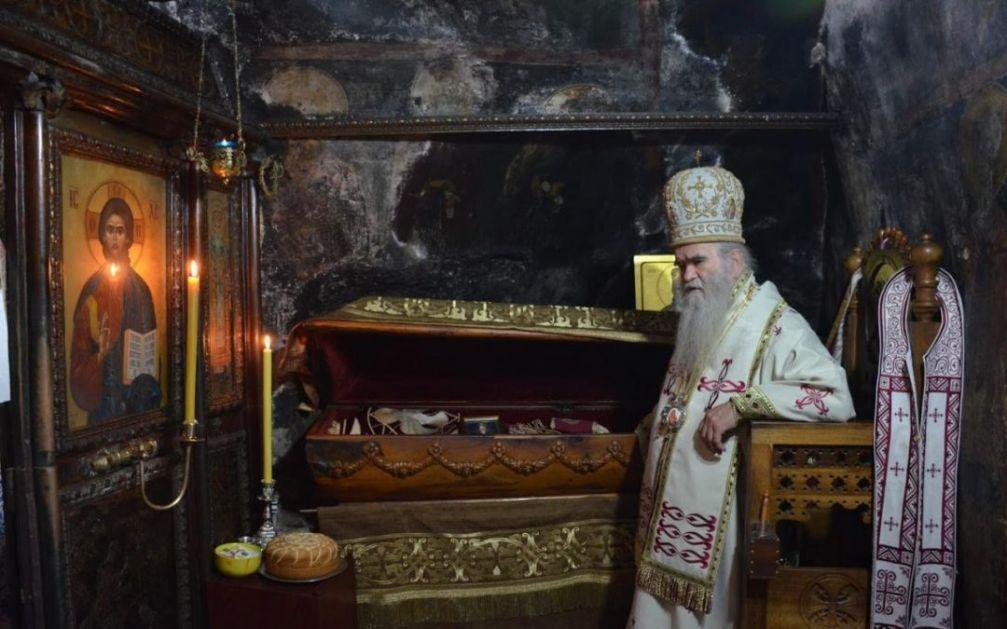 Mitropolit Amfilohije: Mošti Svetog Vasilija Ostroškog će biti na crkveno-narodnom Saboru u Nikšiću