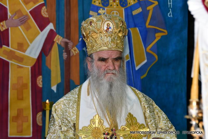 Mitropolit Amfilohije: Daće Bog da se i ovoj crnogorskoj vlasti vrati razum i pamet