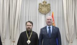 Mitropolit Ilarion: Podržavamo borbu Srpske crkve u Crnoj Gori, scenario je iz Ukrajine