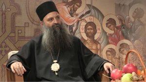 Mitropolit Porfirije: Teror nad Crkvom nije rešenje, odgovornost je na crnogorskoj vlasti