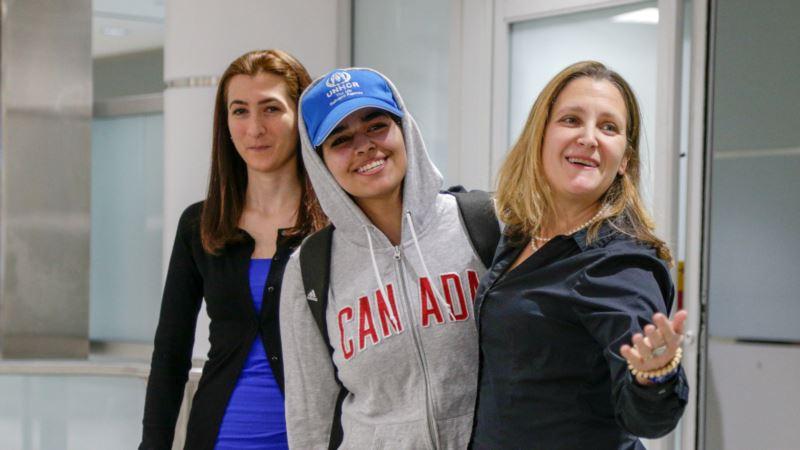 Mlada Saudijka dobila azil, doputovala u Kanadu