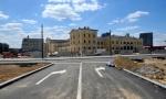 Mnogo promena po okončanju rekonstrukcije ispred stare železničke stanice: Vozila samo po obodima Savskog trga
