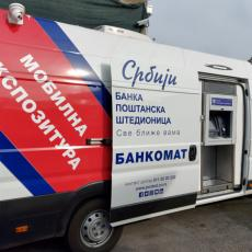 Mobilna ekspozitura Banke Poštanska štedionica od četvrtka na pijaci Buvljak