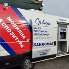 Mobilna ekspozitura Banke Poštanska štedionica u subotu 8. maja na pijaci Skadarlija