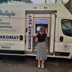 Mobilna ekspozitura banke Poštanska štedionica od četvrtka, 5. avgusta ponovo na pijaci Dušanovac