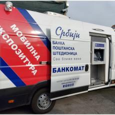 Mobilna ekspozitura banke Poštanska štedionica od četvrtka na pijaci Kalenić