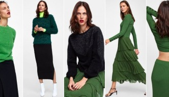 Modna naredba iz Zare: Ove jeseni nosimo tople zelene komade!