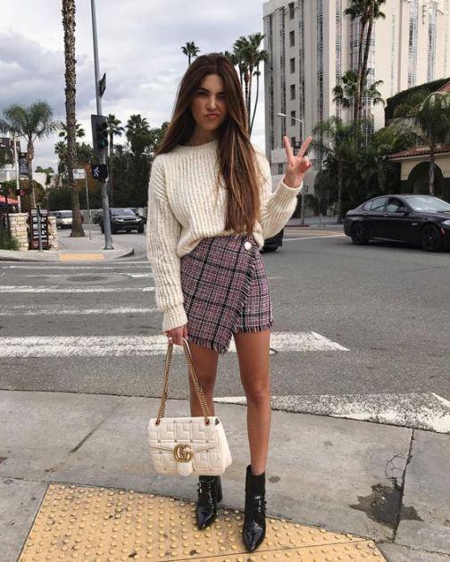 Modno savetovalište: Kako uklopiti mini suknju u slojevito jesenje odevanje?