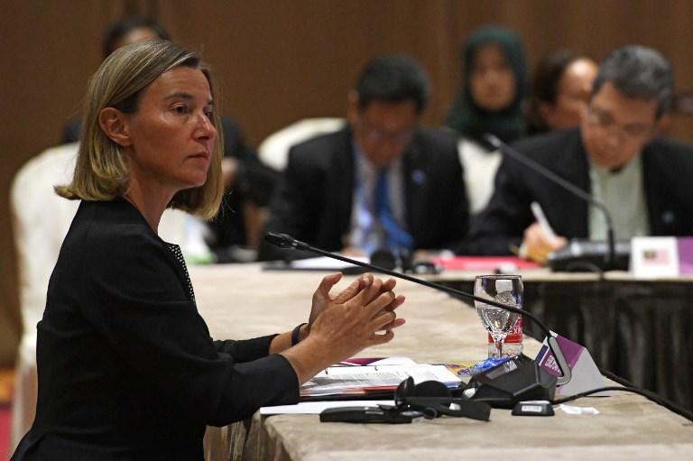 Mogerini razgovarala s Van der Belenom o Kosovu