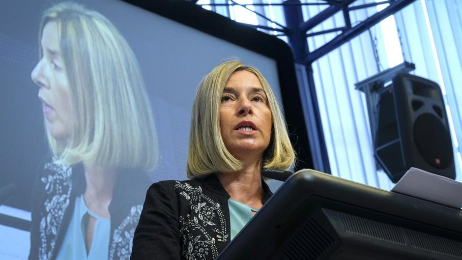 Mogherini: finally time to end Kosovo conflict