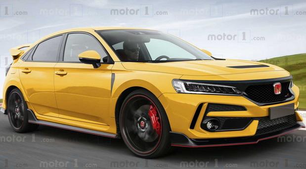 Mogući izgled nove Honde Civic Type R