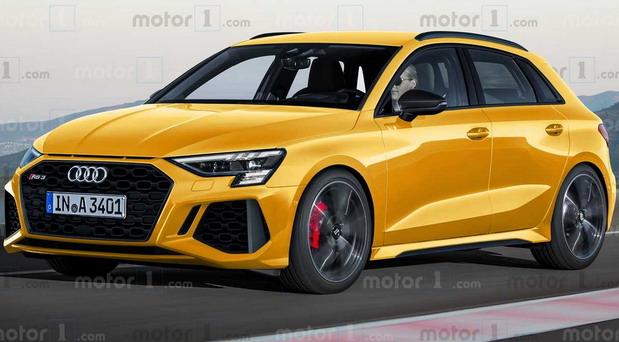 Mogući izgled novog Audija RS3