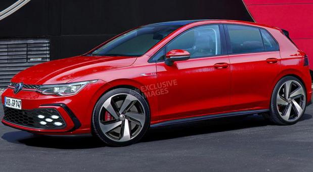 Mogući izgled novog Volkswagen Golfa GTI