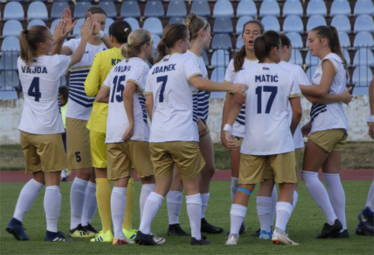 Moldavska Agarista protiv Spartaka u kvalifikacijama za LŠ u fudbalu za dame