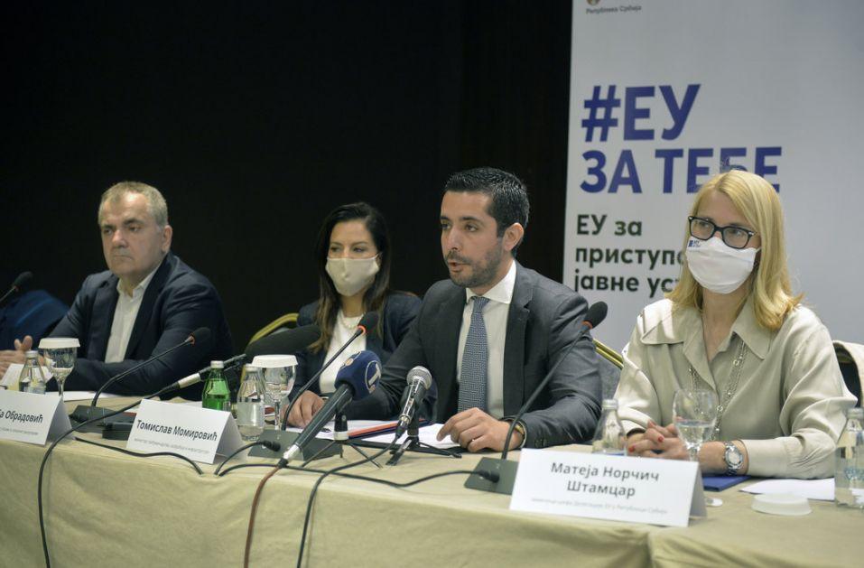 Momirović: U pristupačnost objekata za osobe sa invaliditetom 4 miliona evra