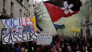 Mond: Slab odziv na protestu Žutih prsluka zbog štrajka i drugih skupova